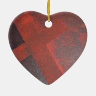 Ornamento De Cerâmica Lavado no sangue
