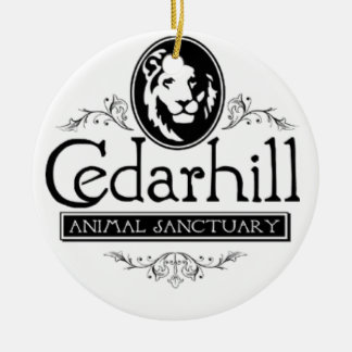 Ornamento De Cerâmica Leão de Cedarhill
