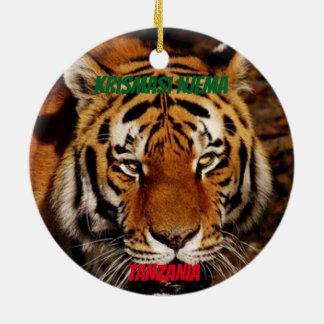 Ornamento De Cerâmica Leão de Tanzânia/ornamento feitos sob encomenda do