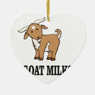 Ornamento De Cerâmica leite da cabra?