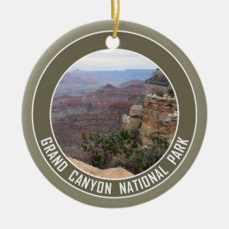 Ornamento De Cerâmica Lembrança do parque nacional do Grand Canyon