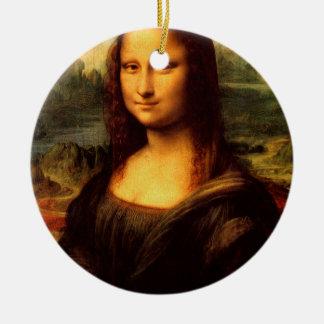Ornamento De Cerâmica LEONARDO DA VINCI - Mona Lisa, La Gioconda 1503