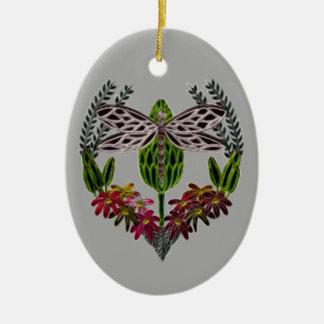 Ornamento De Cerâmica Libélula 1