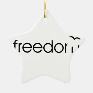 Ornamento De Cerâmica Liberdade