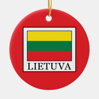 Ornamento De Cerâmica Lietuva