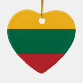 Ornamento De Cerâmica Lietuvos Valstybės Vėliava, Vytis, bandeira de