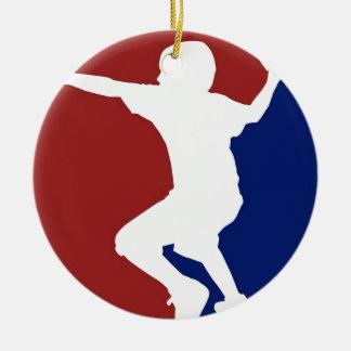 Ornamento De Cerâmica Liga de Dodgeball