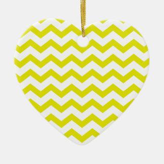 Ornamento De Cerâmica Limão - vigas amarelas
