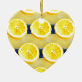 Ornamento De Cerâmica Limonada