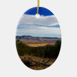 Ornamento De Cerâmica Lince Ridge Colorado