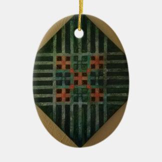 Ornamento De Cerâmica Linha arte 1
