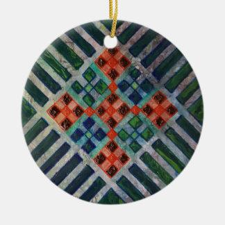 Ornamento De Cerâmica Linha arte 2