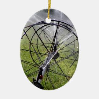 Ornamento De Cerâmica Linha da roda da irrigação