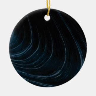 Ornamento De Cerâmica Linha de fluxo ondulada