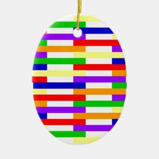 Ornamento De Cerâmica linha design da Multi-cor