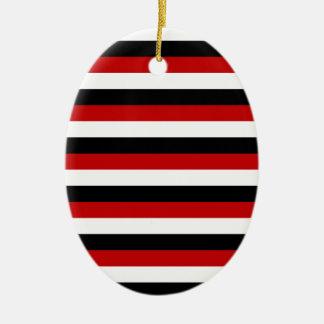 Ornamento De Cerâmica Listras da bandeira de Trinidad and Tobago Yemen