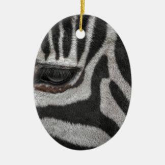 Ornamento De Cerâmica Listras da zebra