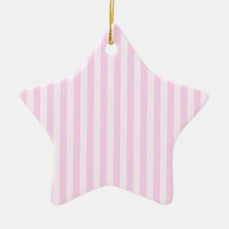 Ornamento De Cerâmica Listras finas - rosa e luz - rosa