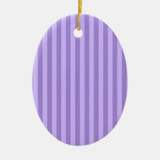 Ornamento De Cerâmica Listras finas - violetas e claras - violeta