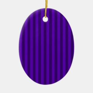 Ornamento De Cerâmica Listras finas - violetas e violeta escura