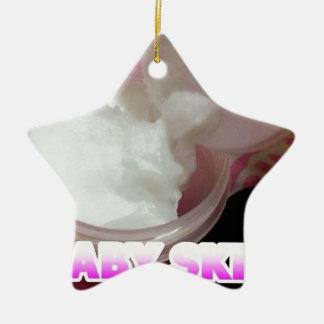 Ornamento De Cerâmica Loção da pele do bebê