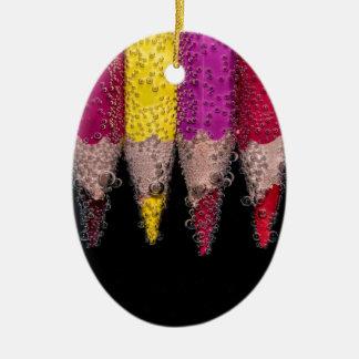 Ornamento De Cerâmica Logotipo colorido