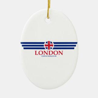 Ornamento De Cerâmica Londres