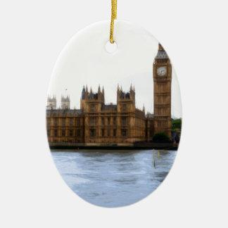 Ornamento De Cerâmica Londres - westminster abstratos