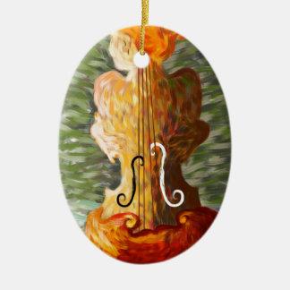 Ornamento De Cerâmica Lonessia V1 - beleza do violino