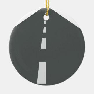 Ornamento De Cerâmica Longo caminho