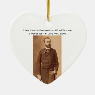 Ornamento De Cerâmica Louis Charles Bonaventure Alfred Bruneau