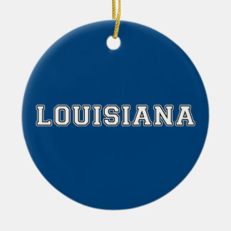 Ornamento De Cerâmica Louisiana