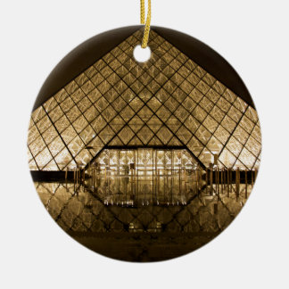 Ornamento De Cerâmica Louvre, Paris/France
