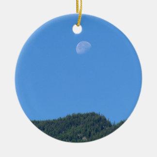 Ornamento De Cerâmica Lua de Keremeos