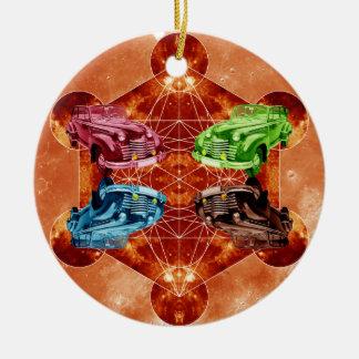 Ornamento De Cerâmica Lua de Oldsmobile