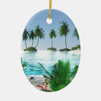 Ornamento De Cerâmica Lupulagem de ilha