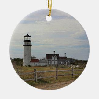 Ornamento De Cerâmica Luz de Cape Cod