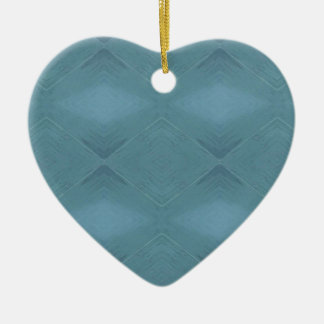 Ornamento De Cerâmica Luz - fundo customizável azul cinzento