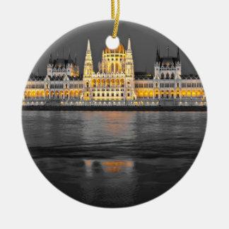 Ornamento De Cerâmica Luzes de Budapest