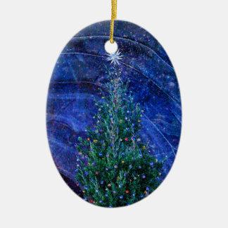 Ornamento De Cerâmica Luzes de Natal