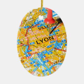 Ornamento De Cerâmica Lyon, France