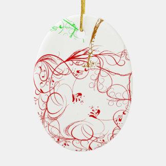 Ornamento De Cerâmica maçã