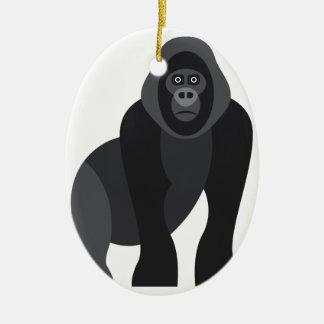 Ornamento De Cerâmica Macaco bonito