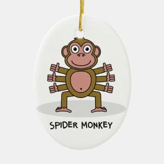 Ornamento De Cerâmica Macaco de aranha