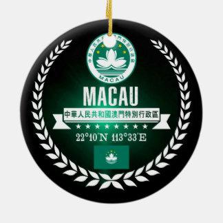 Ornamento De Cerâmica Macau
