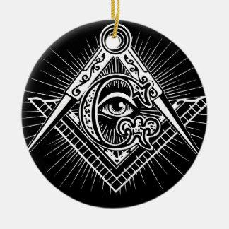 Ornamento De Cerâmica Maçonaria-Maçónico-Alvenaria