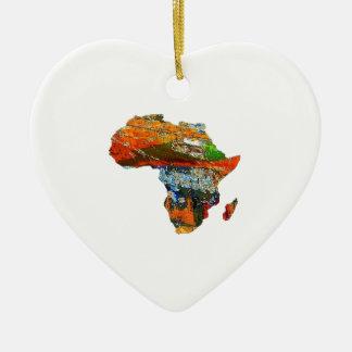 Ornamento De Cerâmica Mãe África
