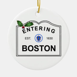 Ornamento De Cerâmica MÃES de Boston
