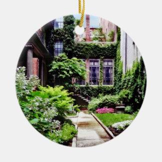 Ornamento De Cerâmica MÃES de Boston - jardim escondido