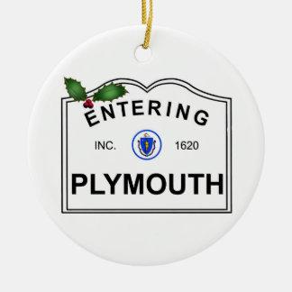 Ornamento De Cerâmica MÃES de Plymouth